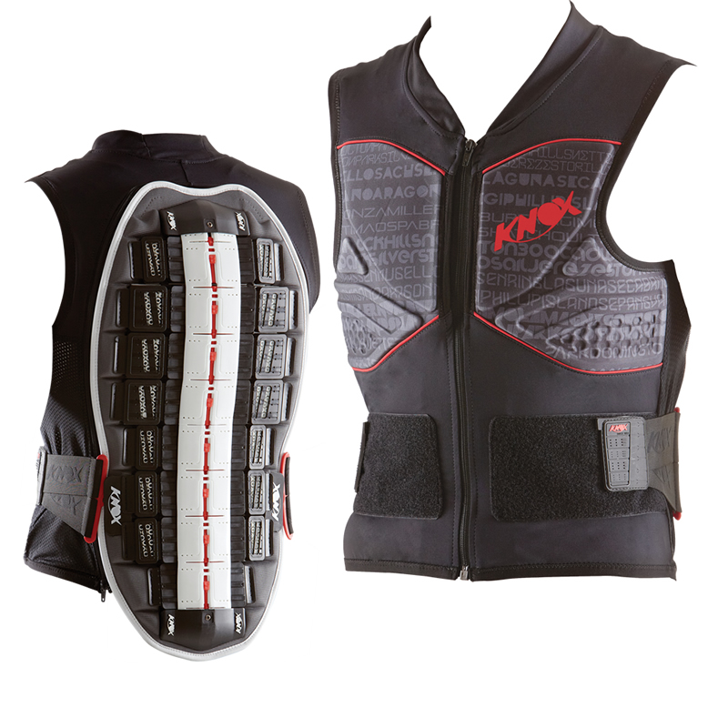 KNOX TRACK-VEST MOTORCYCLE BACK SPINE PROTECTOR CE LEVEL 2 APPROVED GILET JACKET Enlarged Preview