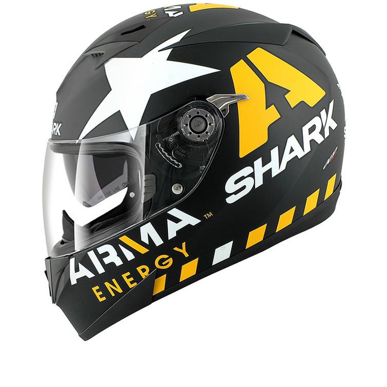 Shark S700-S Scott Redding Mat Replica Motorcycle Helmet