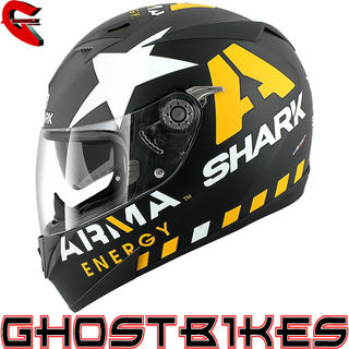 View Item Shark S700-S Scott Redding Mat Replica Motorcycle Helmet