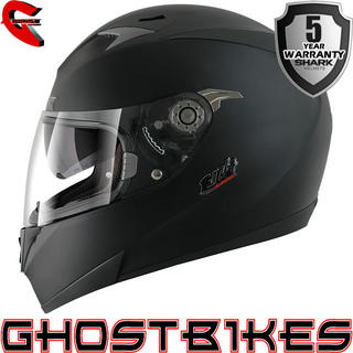 View Item Shark S700-S Full Mat Motorcycle Helmet