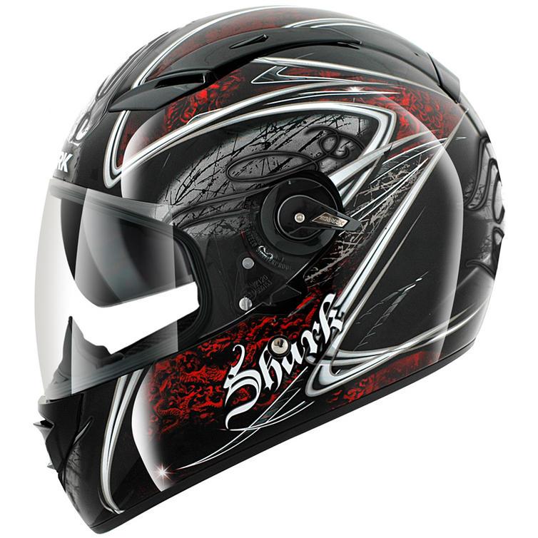 shark vision r fuxy motorcycle helmet full face helmets. Black Bedroom Furniture Sets. Home Design Ideas