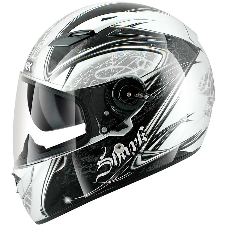 shark vision r fuxy motorcycle helmet full face helmets. Black Bedroom Furniture Sets. Home Design Ideas