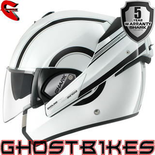 View Item Shark Evoline Series 3 Moovit Motorcycle Helmet