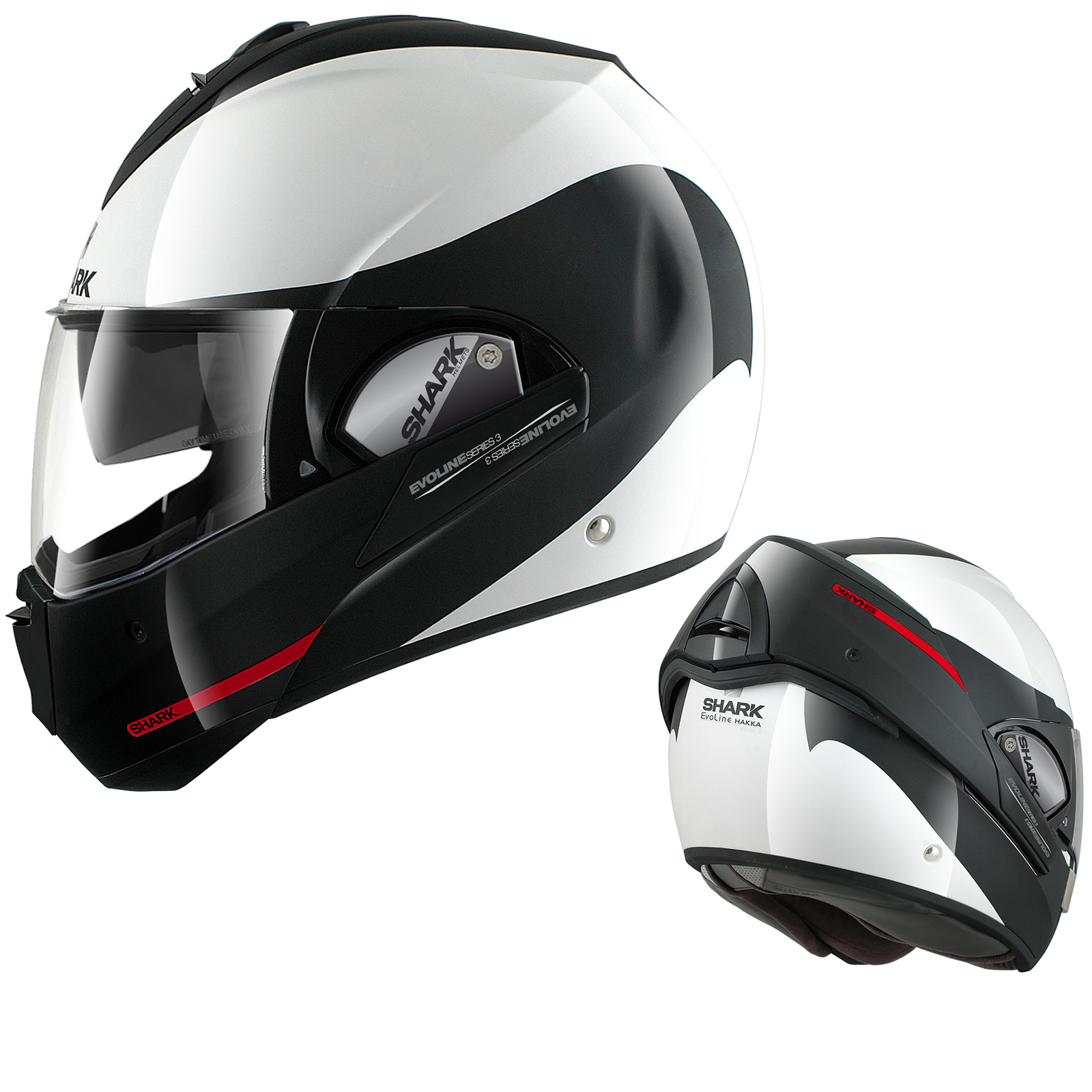 shark evoline series 3 st haka flip up front full open face motorcycle helmet. Black Bedroom Furniture Sets. Home Design Ideas