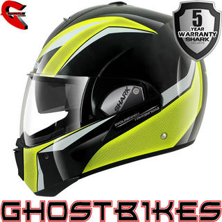 View Item Shark Evoline Series 3 Century HV Motorcycle Helmet