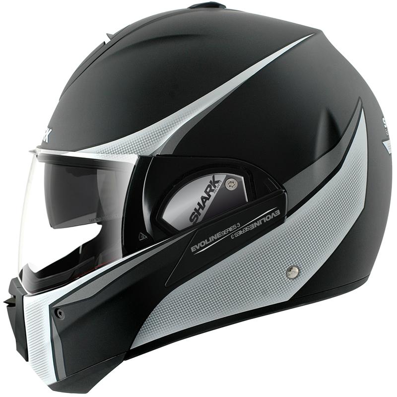 shark evoline series 3 st century mat full open face motorbike motorcycle helmet ebay. Black Bedroom Furniture Sets. Home Design Ideas