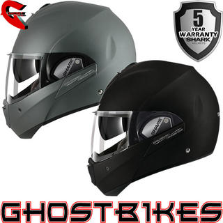 View Item Shark Evoline Series 3 Fusion Mat Motorcycle Helmet