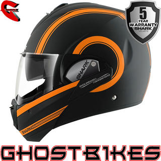 View Item Shark Evoline Series 3 Moovit Mat Motorcycle Helmet