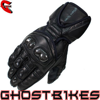 Milano Sport Assen Leather Motorcycle Gloves
