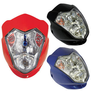 View Item Bike It Aura Universal Motorcycle Headlight