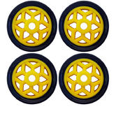 Bike It Paddock Stand Wheel Upgrade Kit (4pcs)