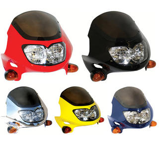 Bike It Raptor 2 Universal Motorcycle Headlight