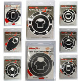 View Item Bike It Carbon Motorcycle Fuel Cap Decals