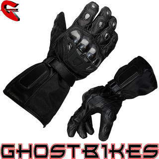 View Item Bike It Leather &amp; Textile Motorcycle Gloves