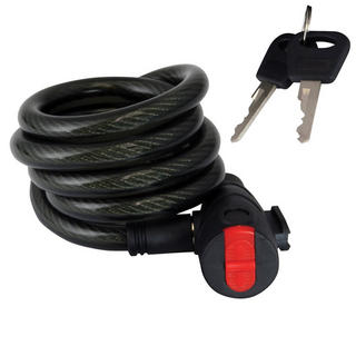 View Item Bike It Mammoth Coil Cable Lock