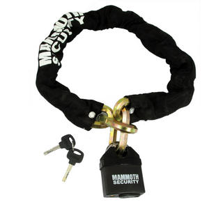 View Item Bike It Mammoth Hexagon Chain and Lock 1m