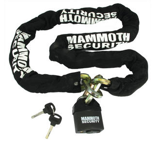 View Item Bike It Mammoth Hexagon Chain and Lock 1.8m