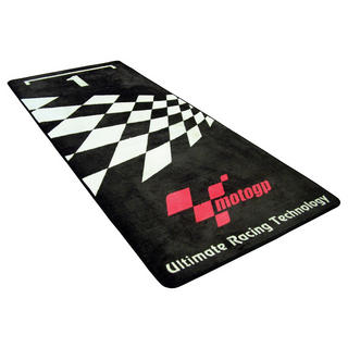 View Item Moto GP Motorcycle Garage Mat