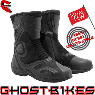 View Item Alpinestars Air Plus Gore-Tex Motorcycle Boots