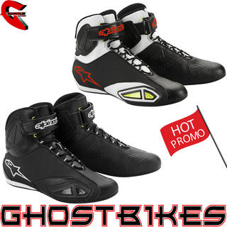 View Item Alpinestars Fastlane Vented Motorcycle Shoes