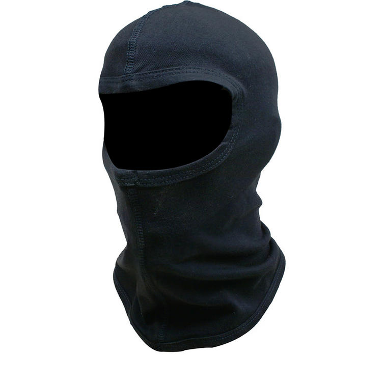 Black Cotton Balaclava