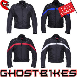 Black Argon Motorcycle Jacket