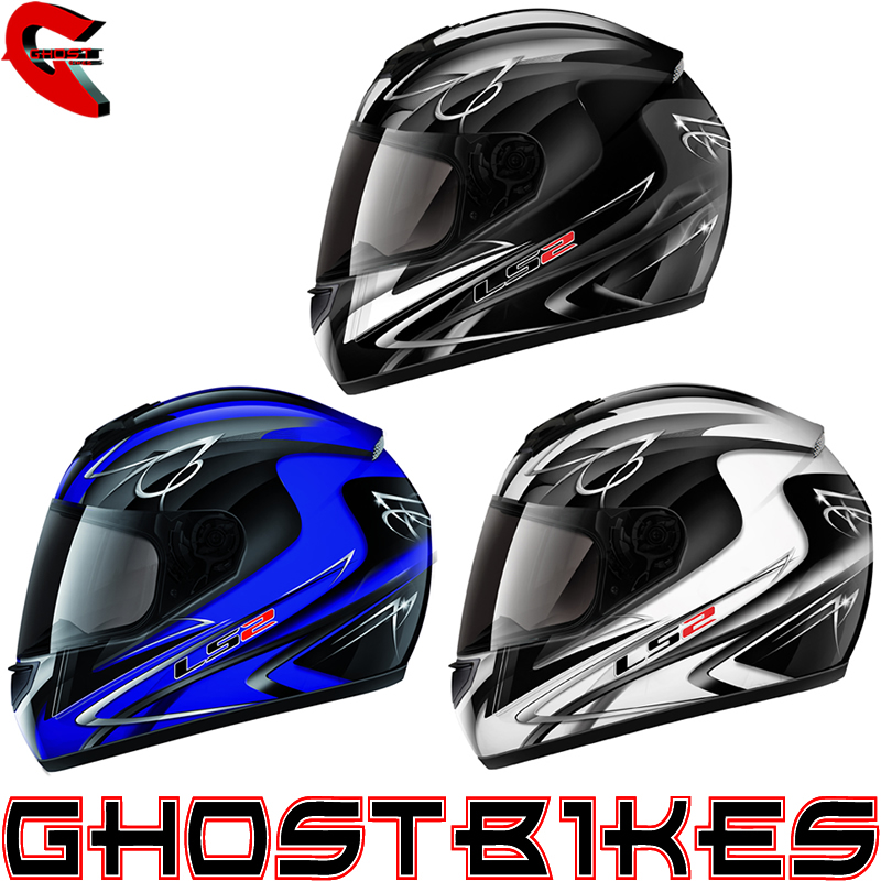 LS2 FF351 DIAMOND 2 FULL FACE POLYCARBONATE MOTORBIKE MOTORCYCLE CRASH HELMET Enlarged Preview