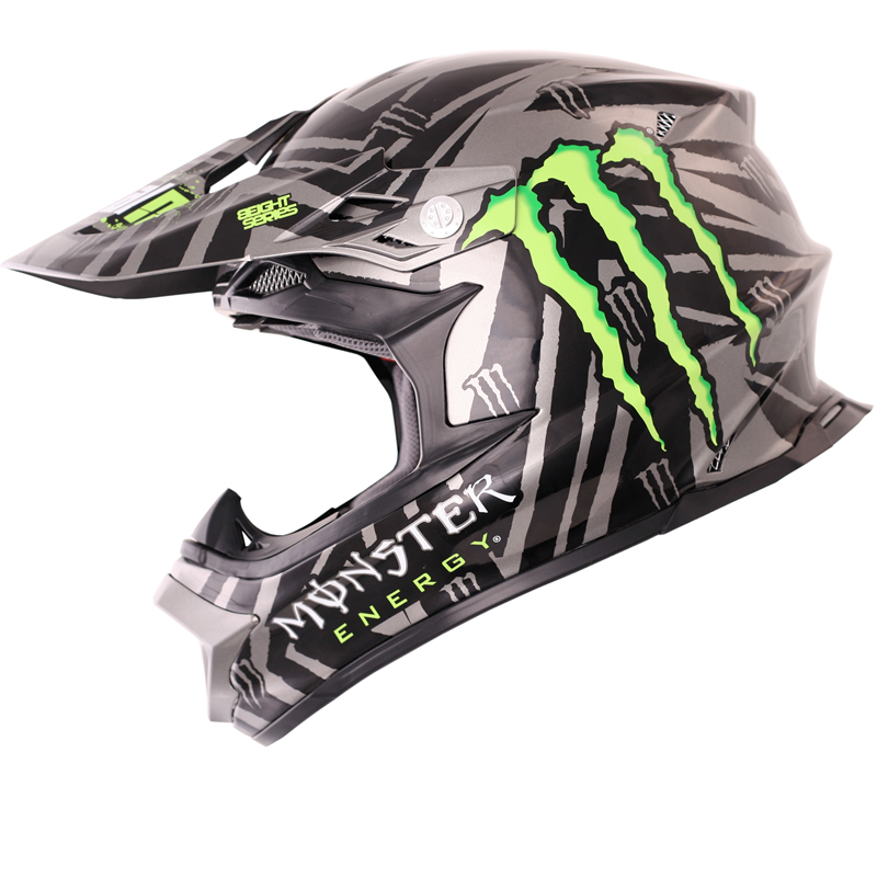 812 Ricky Dietrich Replica Mx Monster Energy Enduro Motocross Helmet