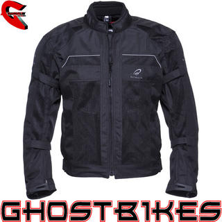 Black Piston Summer Motorcycle Jacket
