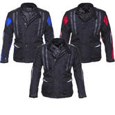 Black Evolution Motorcycle Jacket