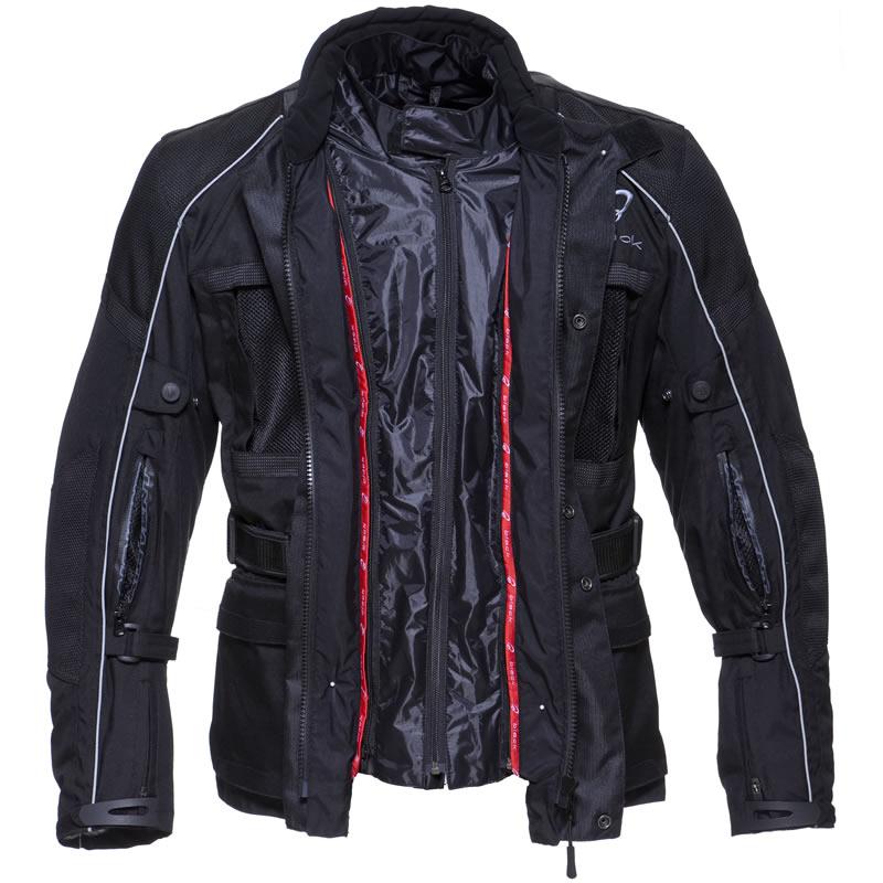 Black Cool It Waterproof Motorcycle Motorbike Touring Bike