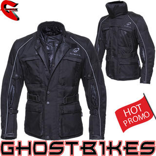 Black Cool-It Motorcycle Jacket