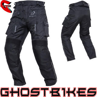 View Item Black Spark Motorcycle Trousers
