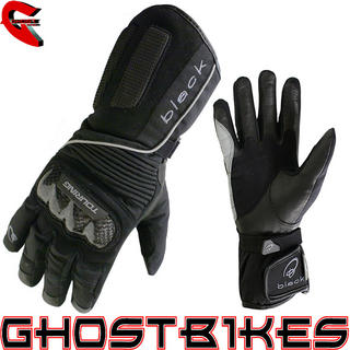 Black Ice Waterproof Motorcycle Gloves