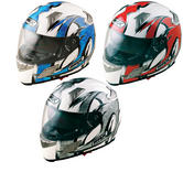 View Item Box BZ-1 Dragon Motorcycle Helmet