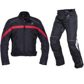 Black Argon & Atom Motorcycle Kit Red