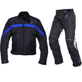 Black Argon & Atom Motorcycle Kit Blue