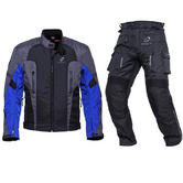 Black Razor & Spark Motorcycle Kit Blue