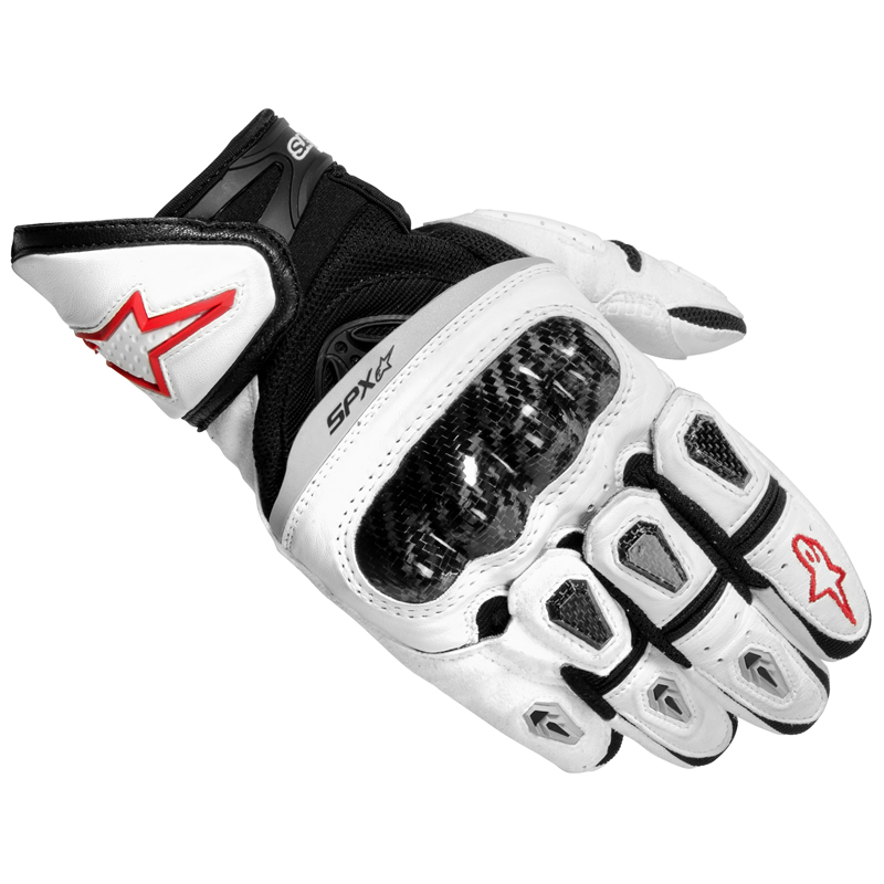 Alpinestars 2012 Sp X Short Leather Supermoto Sports Summer Bike