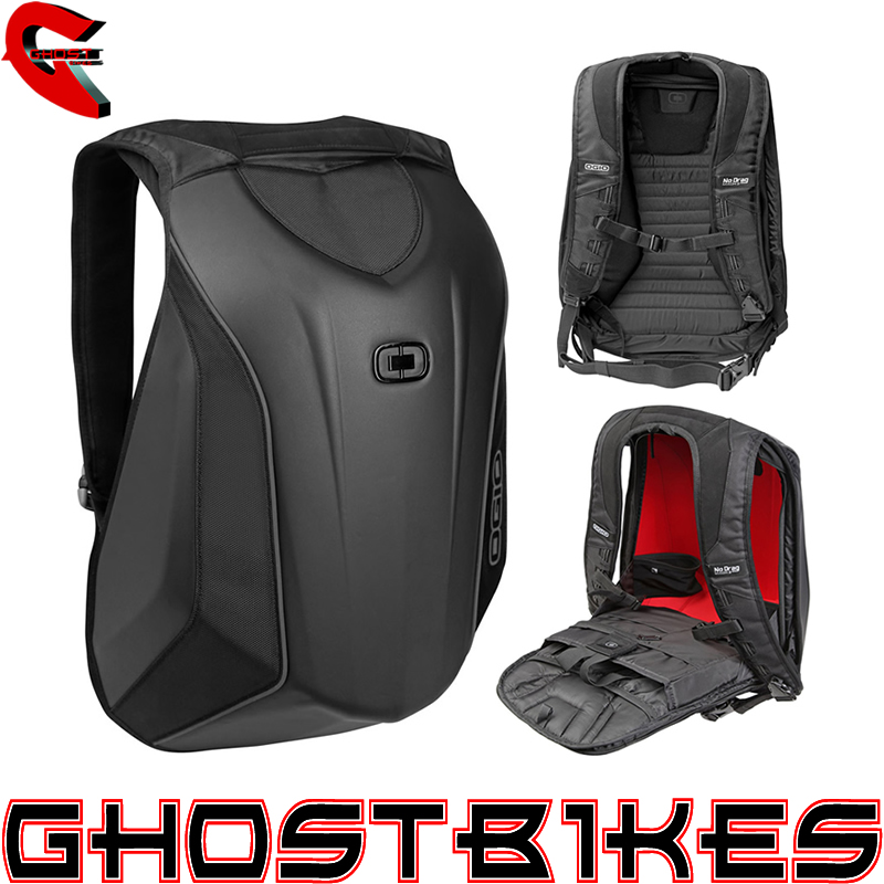 ogio no drag mach 3 stealth motorcycle back pack 18l. Black Bedroom Furniture Sets. Home Design Ideas