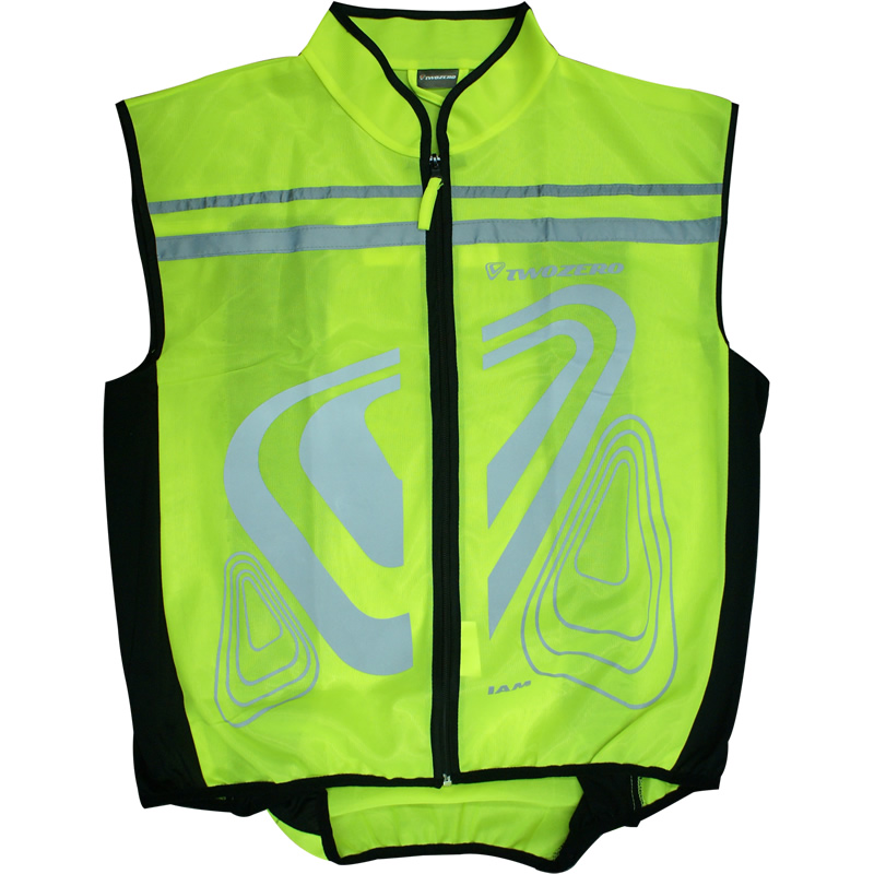 gillet veste de securite nuit moto velo bande fluorescente reflechissante. Black Bedroom Furniture Sets. Home Design Ideas