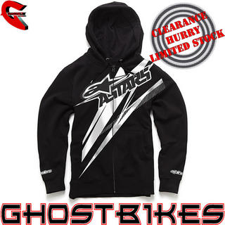 View Item Alpinestars 2013 Excite Zip Up Hoodie