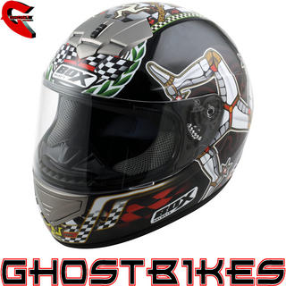 Box BX-1 Isle Of Man TT Motorcycle Helmet
