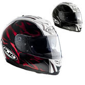 HJC FS-11 Brushstroke Motorcycle Helmet