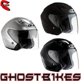 View Item HJC IS-33 Open Face Motorcycle Helmet
