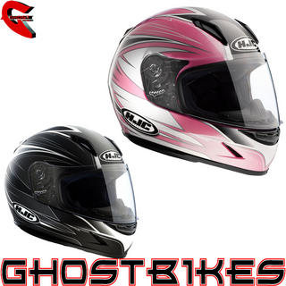 View Item HJC CLY Razz Womens Motorcycle Helmet