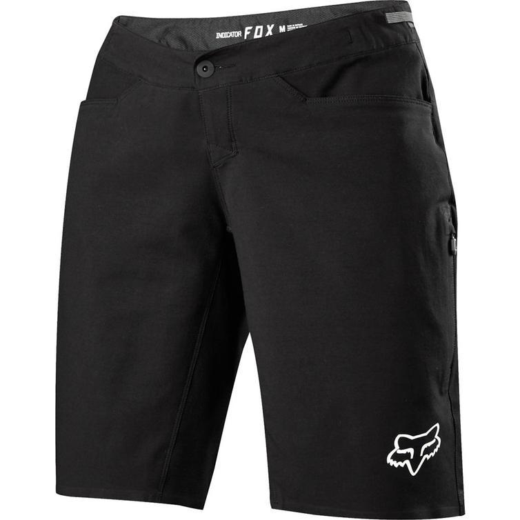 20973-001-L - Fox Racing Ladies Indicator Shorts L Black