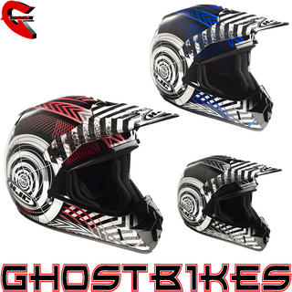 View Item HJC CL-XY Wanted Kids Motocross Helmet