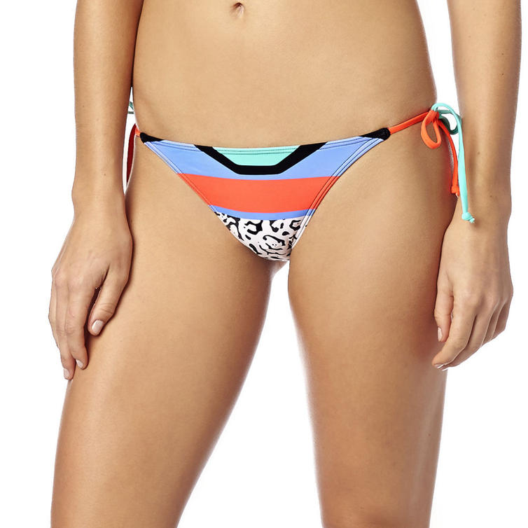 15539-824-XS - Fox Racing Ladies Stereo Side Tie Bikini Bottoms XS Fluo Orange