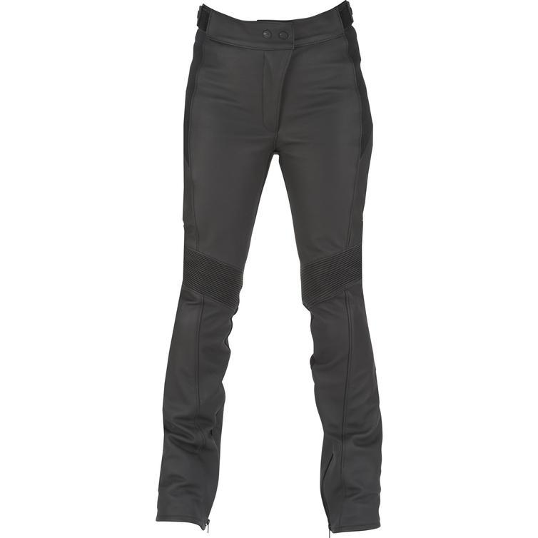 6167-1 44 - Furygan Electra Ladies Leather Motorcycle Trousers 44 Black (UK 12)